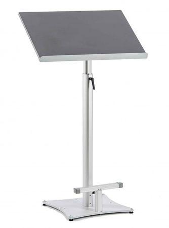 Stehpult SLIDE-XL mit großer Bodenplatte, stufenlos höhenverstellbare und neigbare Arbeitsplatte  – Bild 2
