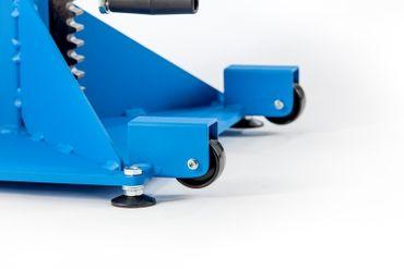 Materialstütze MS 37-Z mit V-Gabel+Kugelrollen und Zahnstangenverstellung bis 1000 kg – Bild 4