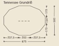 Tortuga Pyramidenzelt  Tennessee - Bodendecke - – Bild 2