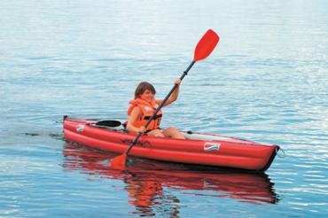 Grabner Kajak  Holiday 2  - Luftboot - – Bild 2