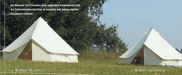 Tortuga Rundzelt  Missouri mit Schlingenverschluß – Bild 1