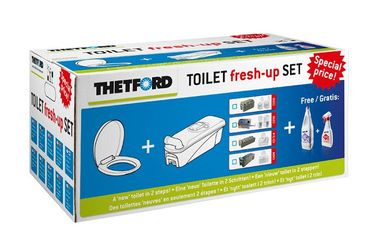 Toiletten-Aufbereitungsset Fresh-Up Set C 400