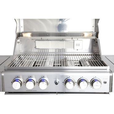 "Allgrill Gasgrill ""Chef XL"",  6 + 1 -flammig  – Bild 3"