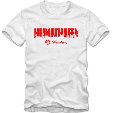 Kinder unisex T-Shirt Heimathafen Hamburg FAN St. Pauli Hafen City Shirt Tee – Bild 1