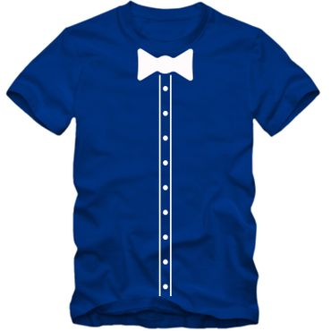Kinder unisex T-Shirt Elegant Suit Hemd Bow Tie Fliege Party Tee S-3XL NEU – Bild 5