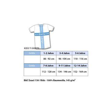 Kinder unisex T-Shirt Elegant Suit Hemd Bow Tie Fliege Party Tee S-3XL NEU – Bild 2