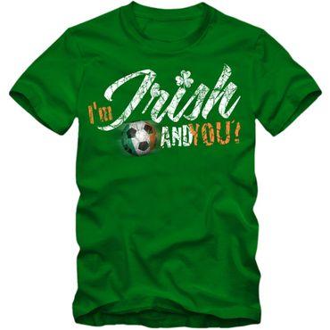 Herren Fußball T-Shirt I'm IRISH Éire Ireland Irland Football EM Trikot – Bild 1