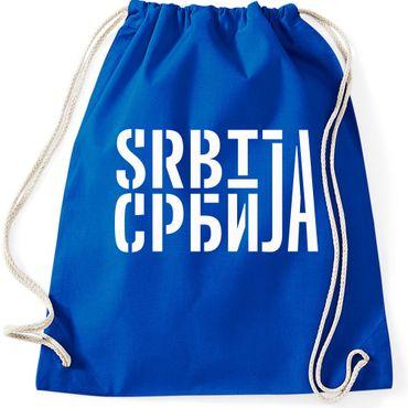 Turnbeutel  Serbien Srbija Beograd Belgrad Balkan Gymnastikbeutel Bag  – Bild 7