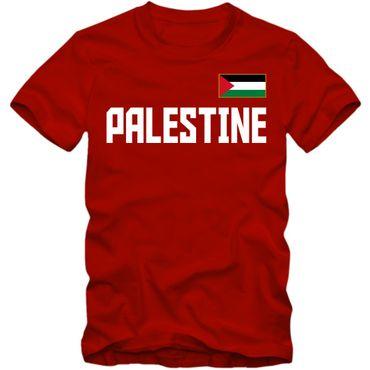 Herren T-Shirt Palästina Palestine Dawlat Filastin Shirt XS-4XL DTG – Bild 4