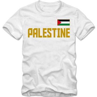 Herren T-Shirt Palästina Palestine Dawlat Filastin Shirt XS-4XL DTG – Bild 5