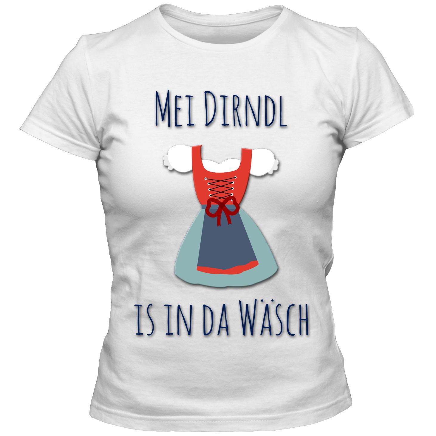 Damen Oktoberfest T-Shirt Dirndl Bayern Girlie Shirt S-3XL NEU DTG