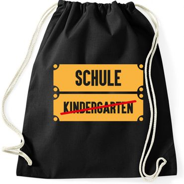 Turnbeutel  Kindergarten - Schule Fun Spass  Gymnastikbeutel Bag  – Bild 1