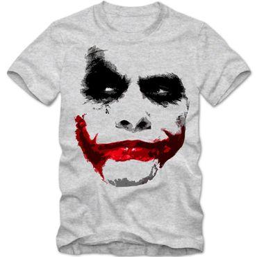 Herren T-Shirt Joker Heath Hollywood Batman Ledger Shirt DTG – Bild 1