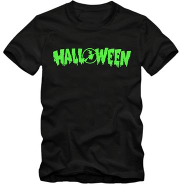 Kinder unisex T-Shirt  Halloween Gespenster Vampire Horror Partyshirt  Fun Spass Tee  – Bild 1