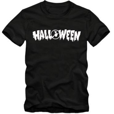 Kinder unisex T-Shirt  Halloween Gespenster Vampire Horror Partyshirt  Fun Spass Tee  – Bild 5