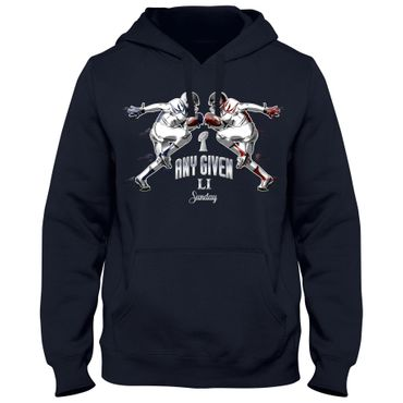 Hoody Hoodie Kapuzenpulli Any Given Sunday Football Bowl American Super DTG 04 – Bild 3