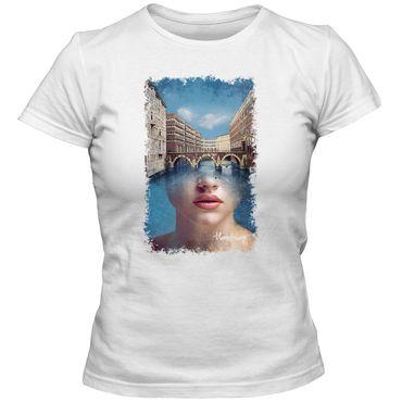 Damen T-Shirt HH Brücke 1 Hamburg Elbe Hafen Moin Shirt S-3XL DTG – Bild 3