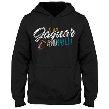 Hoody Hoodie Kapuzenpulli Football USA Jaguar Bowl American Super Shirt DTG – Bild 3