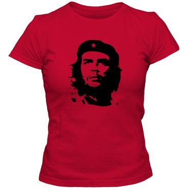 Damen T-Shirt Che Guevara Kuba Cuba Argentinien Viva la Revolution Rebellen Tee S-3XL  – Bild 3