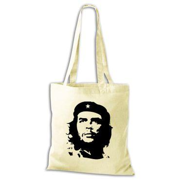 Baumwolltasche Jutebeutel  Che Guevara Kuba Cuba Argentinien Viva la Revolution Rebellen  Stoffbeutel  – Bild 4