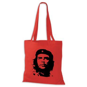 Baumwolltasche Jutebeutel  Che Guevara Kuba Cuba Argentinien Viva la Revolution Rebellen  Stoffbeutel  – Bild 5