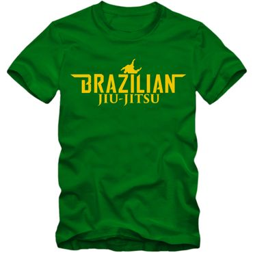 Kinder T-Shirt Brazilian Jiu Jitsu Brasil Mixed Kampfsport Martial Arts Shirt Tee  – Bild 1