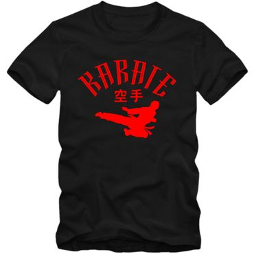 Kinder T-Shirt Karate Japan Shotokan Mixed Kampfsport Martial Arts Shirt  Tee  – Bild 1