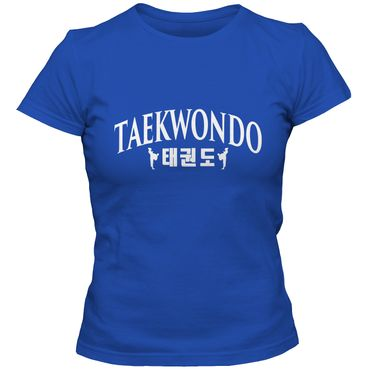 Damen T-Shirt Taekwondo Korea Mixed Kampfsport Martial Arts Shirt Tee – Bild 5
