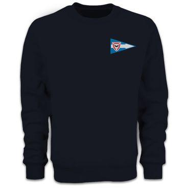 Herren Sweatshirt Logo klassisch bestickt