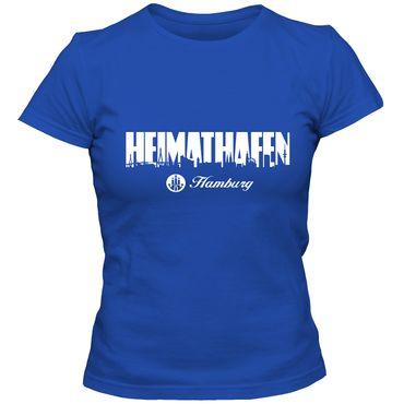 Damen T-Shirt Heimathafen 02 mit Elbphilharmonie Hamburg Shirt FAN St. Pauli Reeperbahn Hafen City Tee – Bild 5
