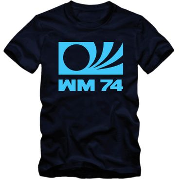 DEUTSCHLAND T Shirt WM 1974 World Cup 74 Germany Fussball Weltmeister NEU S-4XL – Bild 4
