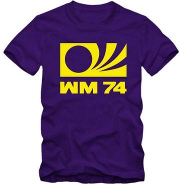 DEUTSCHLAND T Shirt WM 1974 World Cup 74 Germany Fussball Weltmeister NEU S-4XL – Bild 5