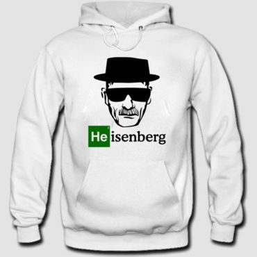 Hoodie Kapuzenpulli Breaking Bad Shirt Heisenberg Mr. White Los Pollos Hermanos