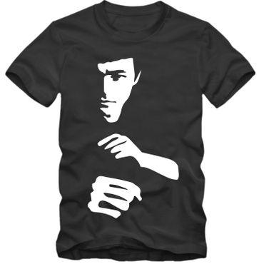 Herren T-Shirt Bruce Lee Master Kung Fu Hero Tee S-3XL NEU TOP QUALITÄT! – Bild 4