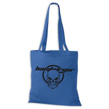 Baumwolltasche Jutebeutel Skull Hamburger Totenkopf Hamburg St. Pauli Bag NEU