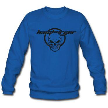 Herren Sweatshirt Sweater Hamburger Skull Hamburg Totenkopf St. Pauli S-3XL