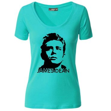 Damen T-Shirt James Dean Giganten Hollywood Life Shirt Tee S-3XL NEU – Bild 4