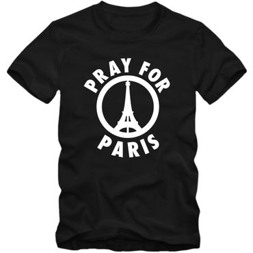 Herren T-Shirt #prayforparis Je Suis Paris Shirt Tee S-3XL NEU 02 – Bild 1