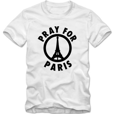 Herren T-Shirt #prayforparis Je Suis Paris Shirt Tee S-3XL NEU 02 – Bild 3