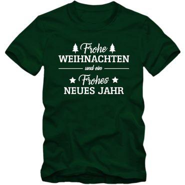 Herren T-Shirt frohe Weihnachten Xmas Christmas Shirt Tee S-3XL 03 – Bild 3