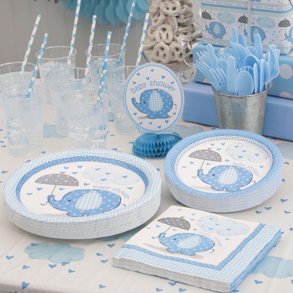 Baby Shower Blau
