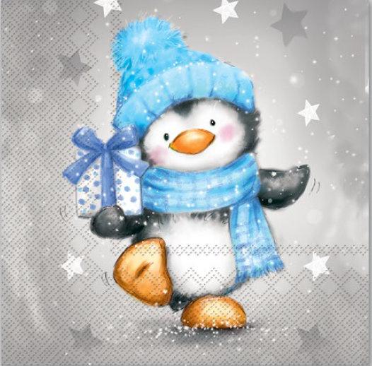 Pinguin Junge