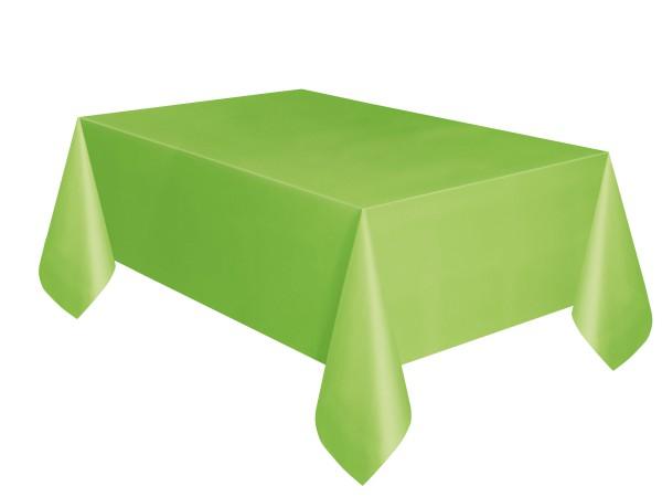 plastik tischdecke hellgr n. Black Bedroom Furniture Sets. Home Design Ideas