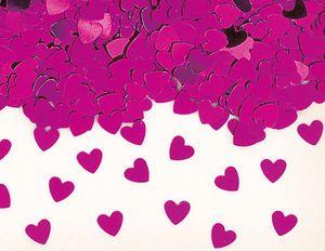 Pinke Herzchen Konfetti