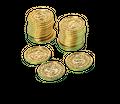144 Goldmünzen