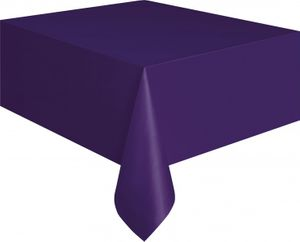 Plastik Tischdecke Violett – Bild 1