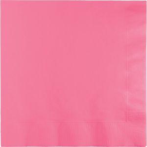 50 Servietten Bonbon Rosa – Bild 1