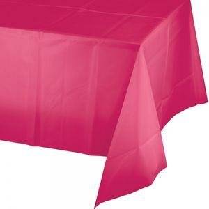 Plastik Tischdecke Pink Magenta