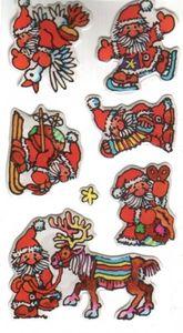 Weihnachtsmann Soft Sticker