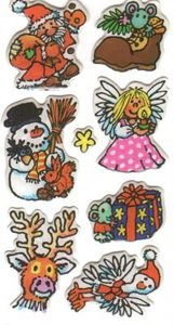 Weihnachten Soft Sticker
